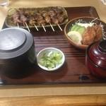 小金家 - 料理写真:ご飯はふた付きで供されます。
