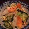 しらかめ - 料理写真:アボカドと漬け物サラダ