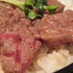白肉屋 - ステーキ(アップ)