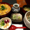 鎌倉 峰本 - 料理写真:親子丼と ひとくちそば  1,400円 税別