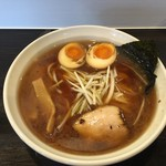 麺処 輝 - 味玉ラーメン