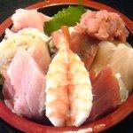たから舟 - 海鮮丼(並)
