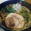 ふかがわ らぁめん道場 極 - 料理写真:味噌ラーメン(ふかがわ黒)(850円)