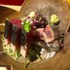 まる富 - 料理写真:お造り:鰹・新秋刀魚