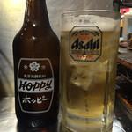 ホルモン焼 珍満 - ホッピー白470円