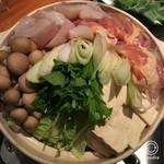 浅草 軍鶏家 - 軍鶏&河豚鍋