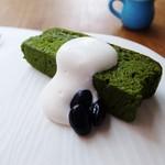 morc - 抹茶のガトーショコラ