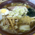 ラーメン百番 - 料理写真:野菜醤油