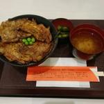 豚丼のぶたはげ - 料理写真:豚丼 肉4枚 ¥1020
