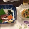 ふじ家 - 料理写真:お造り&酢の物