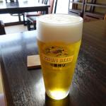近江肉せんなり亭 伽羅 - ドリンク写真:生ビール600円