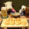 やまちゃん本舗 - 料理写真:そしてやってきました、明石焼。 まずはビールとウーロン茶でかんぱ~い!! いやぁ、ジョッキをキンキンに冷やしてくれてるおかげで ビールがとっても美味しい~♪