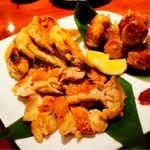 浅草 軍鶏家 - 軍鶏焼き