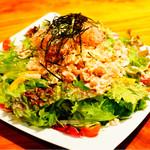 浅草 軍鶏家 - 軍鶏サラダ