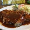 洋食の店 自由軒 - 料理写真:分厚いトンテキ
