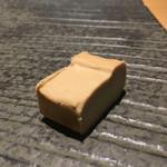 すし天 - クリームチーズの味噌漬け