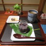 紫野和久傳  茶寮 - 桑の実ゼリー