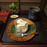 紫野和久傳  茶寮 - 山椒アイスクリン