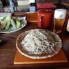 蕎麦屋蛍 - 料理写真:蛍の緑880円(大盛+220円)、季節の天ぷら580円、ノンアルコール260円