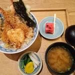 魚武 - 道後天丼