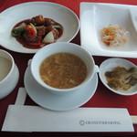 中華酒家 龍殿 - 酢豚定食