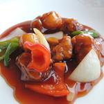 中華酒家 龍殿 - 酢豚