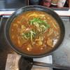 麺くい やまちゃん - 料理写真:名物かすカレーうどん