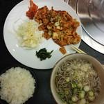 えびす亭 - 料理写真:豚キムチ定食