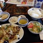 廣東餃子房 - 回鍋肉定食