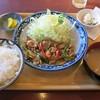 万福食堂 - 料理写真:・「肉生姜焼定食(¥770)」