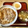 あかし庵 - 料理写真:かつ丼(並)