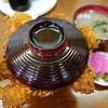 ニコニコ亭 - 料理写真:(2016/7月)三枚丼を上から見たところ
