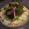 ピッツェリア トラットリア ラ テッラ - 料理写真:青ゾイのカルパッチョ