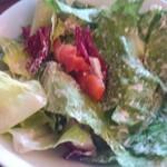 55035711 - ロメインレタスのサラダ