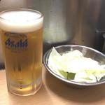 元祖串かつ だるま - いやいや~大阪で串かつとビール、最高です(*≧m≦*)