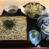 風 - 料理写真:まいたけ天ざるそば(十割そば)1,600円
