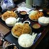 しのざき - 料理写真:2013/05 トリプル定食¥1,380+大盛り¥100×3