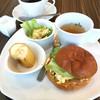ブラウンカフェ - 料理写真:モーニングB(ふすまパンに変更+¥100) ¥550
