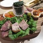京橋 煮込みビストロ banco - 煮込み前菜盛合わせ