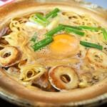 まゆみの店 - 料理写真:鍋焼きラーメン 並