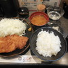 とん竹 - 料理写真:とんかつランチ ¥850-