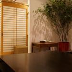 えさき - 店内:テーブル席