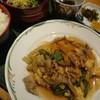 呑ん太 - 料理写真:呑ん太(週替り)定食:豚バラ炒め