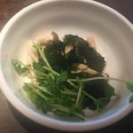 オリエンタルマーケット猛烈食堂 - 野菜しゃぶしゃぶ #しめじ #わかめ #豆苗 初訪問|2016/08/21(日)13:23頃