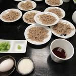 正覚 田中屋 - 料理写真:出石皿そば(1人前は5皿です)