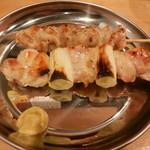 中村屋 - 鶏串焼(ハラミ・ねぎま)