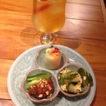 サイアムセラドン - 前菜、アイスジャスミン