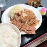 55066469 - しょうが焼定食¥950