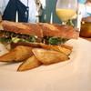 バルマーネ - 料理写真:サバフライのサンド