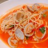 ボーネージュ - 料理写真:ボンゴレ・トマトスープパスタ
